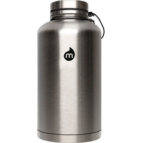 MIZU V20 Insulated Bottle with V-Lid 2000ml Stainless with Black
